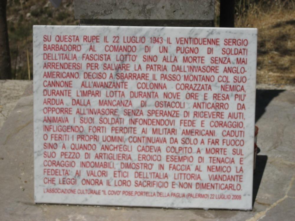 ILCOVO RICORDA IL 71° ANNIVERSARIO DELL'INVASIONE DELLA SICILIA (9 LUGLIO/ 18  AGOSTO 1943) (4/4)