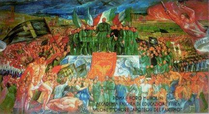 Foro Mussolini (apoteosi del Fascismo) 1