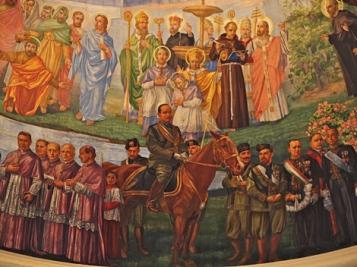 Non porgiamo l' altra guancia: Quando la Chiesa celebrava Mussolini.