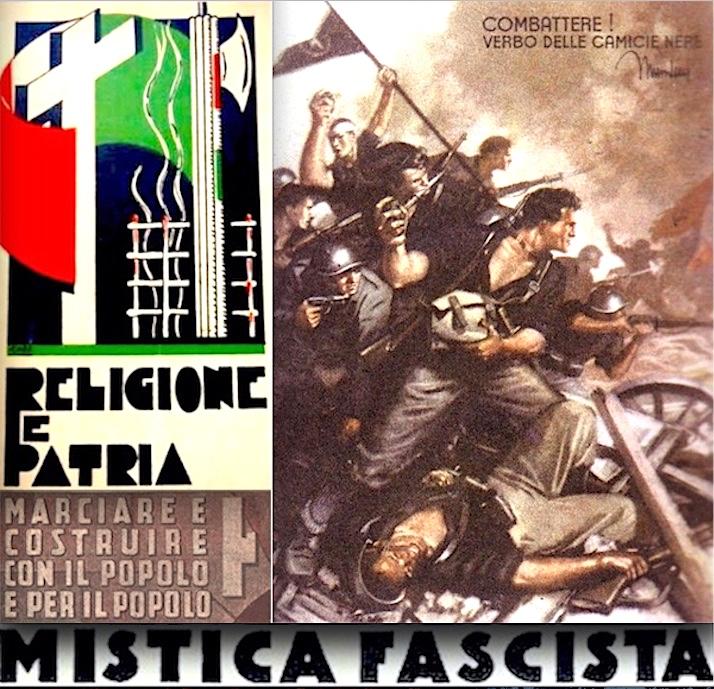 Mistica Fascista del combattimento - Biblioteca del Covo